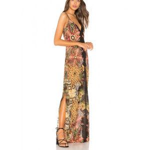 NWT Free People Wildflower Printed Slip Dress